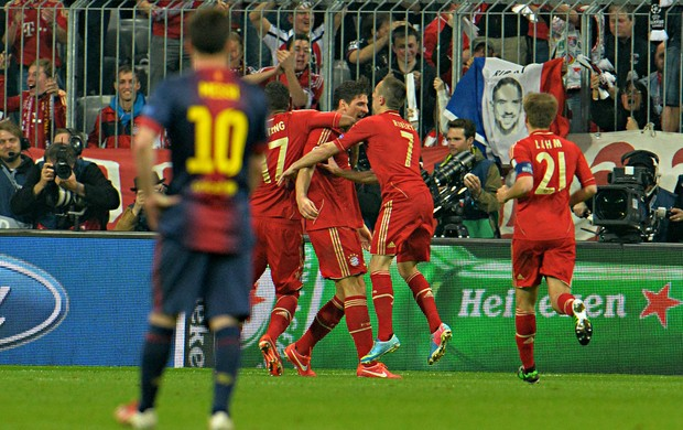 Messi, Bayern de Munique x Barcelona (Foto: AP)