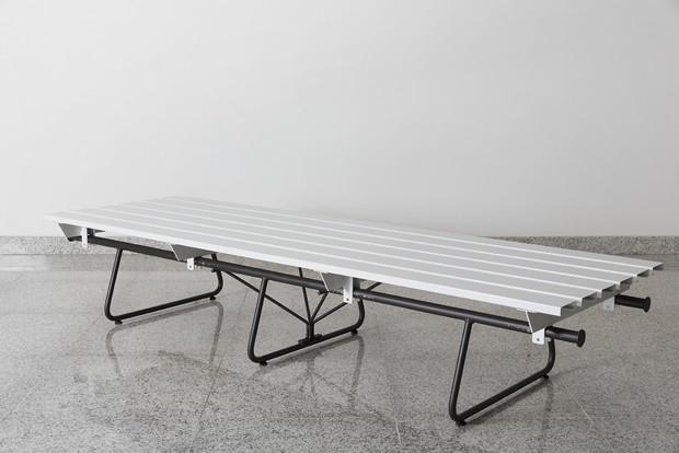 Paulo Mendes da Rocha assinam móveis para o Sesc 24 de Maio (Foto: André Klotz)