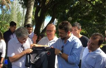 Botafogo-PB renova com Michel Alves e Raphael Luz e contrata um atacante