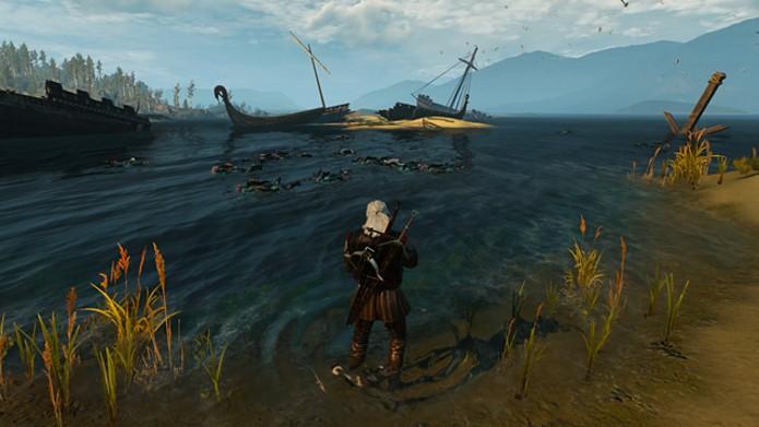 Fique perto da costa quando for caçar os afogados (Foto: Reprodução)