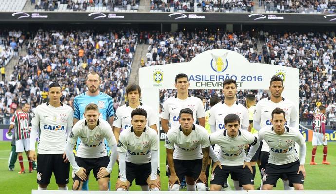 Corinthians posado (Foto: Marcos Ribolli)