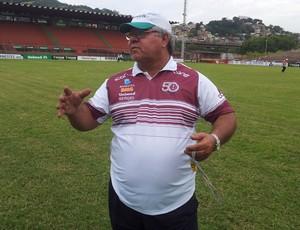 Paulo Marcos, técnico da Desportiva Ferroviária (Foto: Eduardo Dias/Globoesporte.com)