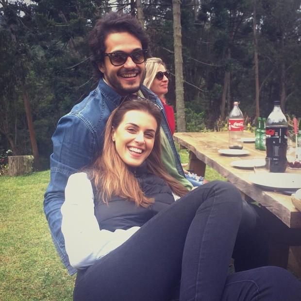 Angela Munhoz e Raphael Vianna (Foto: Instagram / Reprodução)