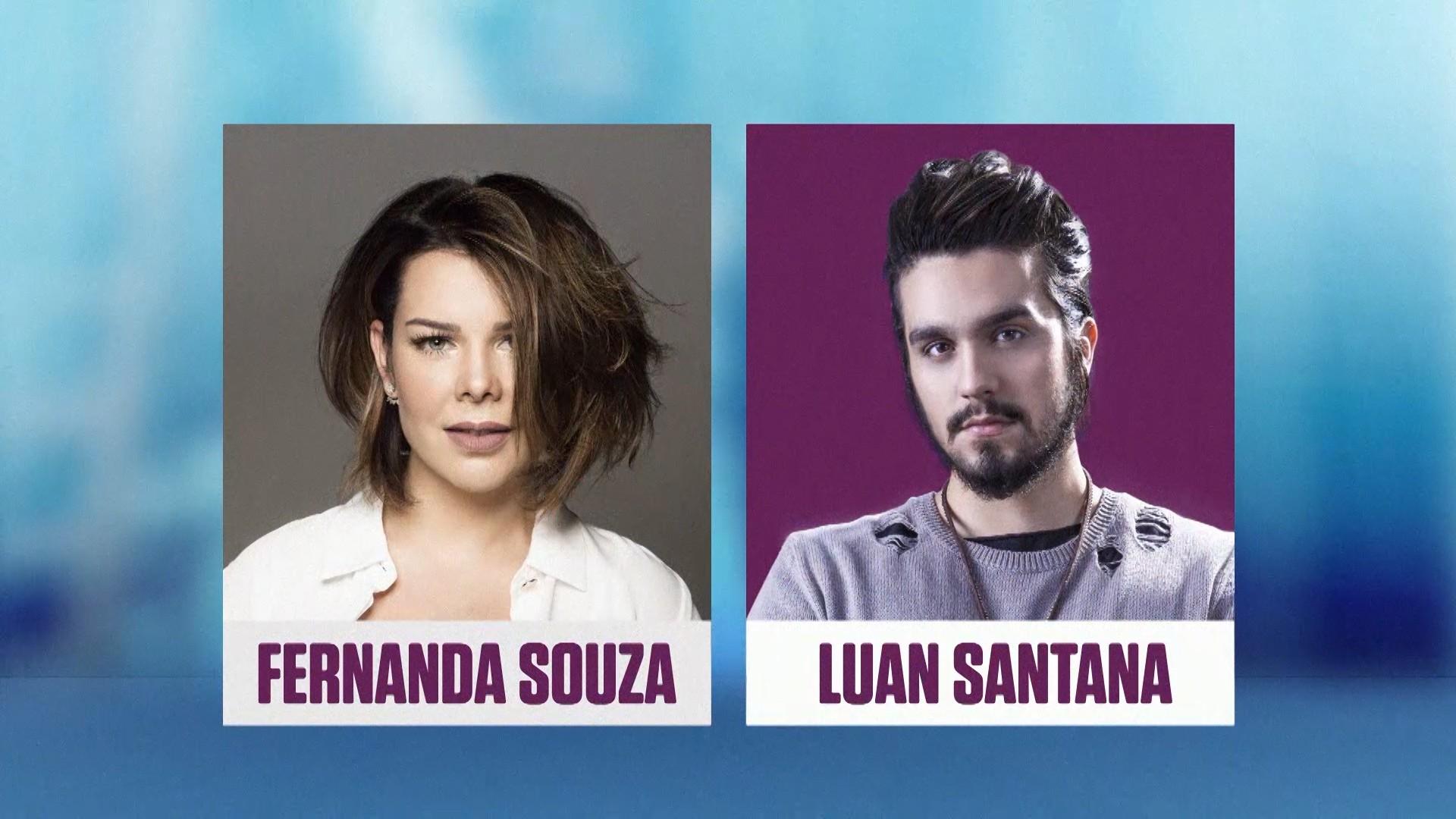 Com Luan Santana e Fernanda Souza no comando, o STocaTop estreia nesta sexta (13) no Multishow (Foto: Divulgao)