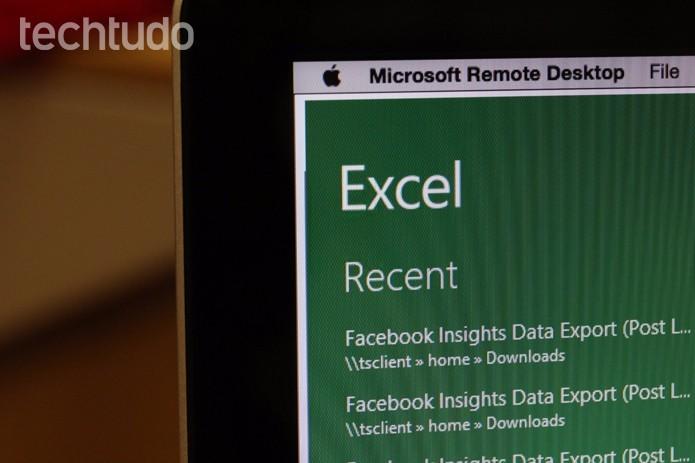 Edição colaborativa começa a chegar para o Excel para Windows (Foto: Carolina Ochsendorf/TechTudo)