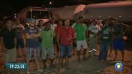 Caminhoneiros continuam parados em frente ao Porto de Cabedelo