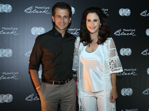 Guilhermina Guinle e o marido, Leonardo Antonelli, em show na Zona Sul do Rio (Foto: Roberto Filho/ Brazil News)