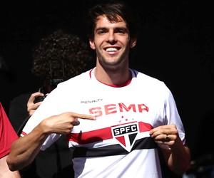 kaká são paulo Apresentação (Foto: Marcos Ribolli / Globoesporte.com)