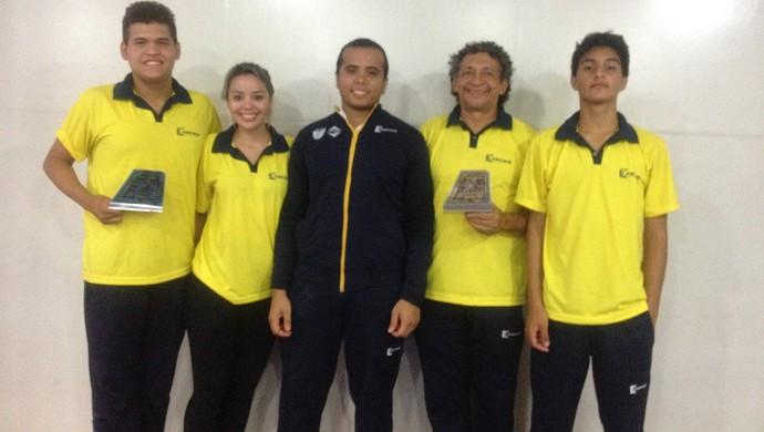 Delegação amapaense de taekwondo conquista duas medalhas na Copa das Confederações em Pernambuco (Foto: Karol Aood/GE-AP)