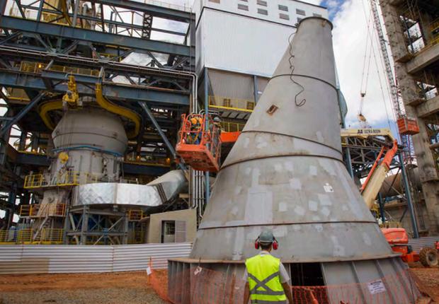 Companhia Siderúrgica Nacional (CSN) Arcos ; siderurgia ; indústria ;  (Foto: Divulgação)