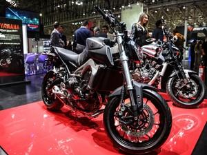 Yamaha FZ-09 (Foto: Raul Zito/G1)