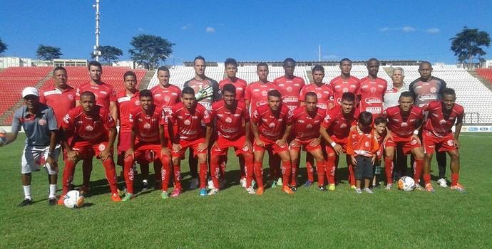 Time do América TO que venceu o Minas Boca na tarde deste sábado, 21, em Sete Lagoas (Foto: Ass. Com. América TO)