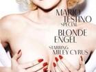 Miley Cyrus posa sexy e de topless para revista alemã