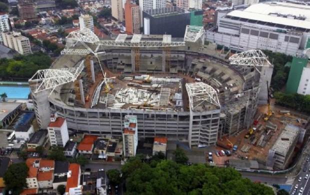 Arena Palestra Arena Palmeiras (Foto: Divulgação / WTorre)