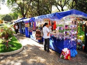 Feira de artesanato será na Praça Frei Baraúna (Foto: Divulgação/ Zaqueu Proença)