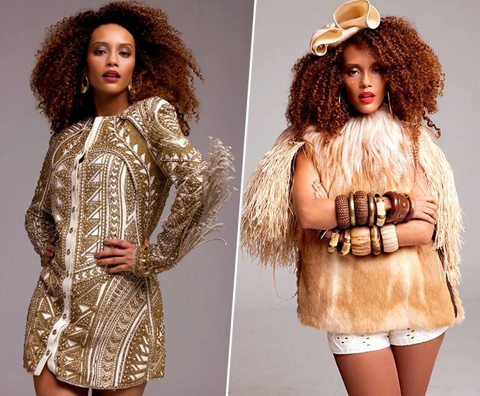 Michele entende do assunto quando se fala de glamour! (Foto: Bruno Rangel)