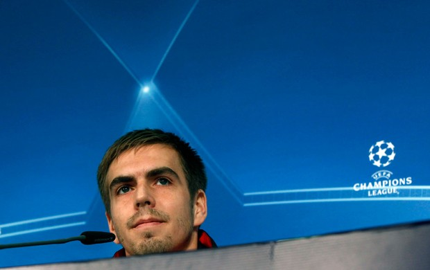 Philipp Lahm bayern de munique coletiva (Foto: Agência Getty Images)