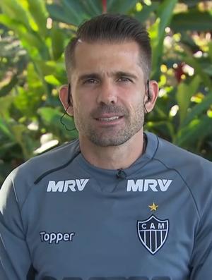 Goleiro Victor, goleiro do Atlético-MG (Foto: Reprodução SporTV)