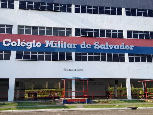 Colégio Militar de Salvador (CMS) teve melhor nota do Enem entre públicos da BA (Foto: Alex de Paula/G1)