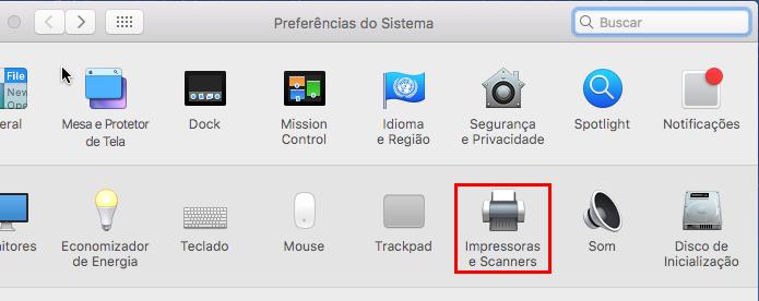 Entrando na opção Impressoras e Scanners (Foto: Reprodução/Edivaldo Brito)