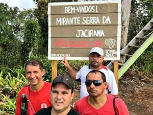 Serra do Divisor Acre (Foto: Evilázio Santos/Arquivo pessoal)