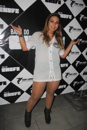 Valesca Popozuda em show no Rio (Foto: Divulgação)