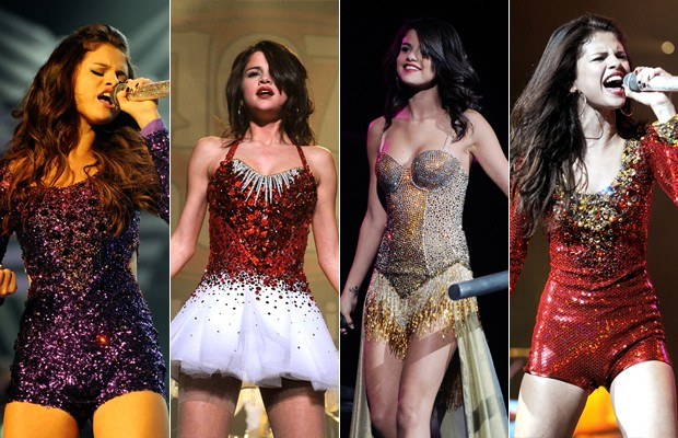 Figurinos de Selena Gomez  (Foto: Getty Images / Agência)