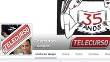 Conheça nossa página no Facebook! ;) (Telecurso)