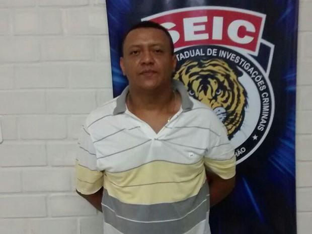 Suspeito, natural de Pernambuco, já possuía vários mandados de prisão (Foto: Divulgação/Polícia Civil)