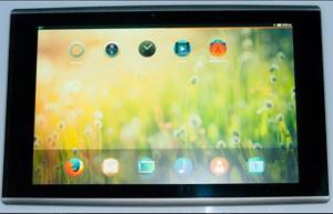 Mozilla texta sistema Firefox OS em tablets (Foto: Divulgação/Asa Dotzler/Mozilla)