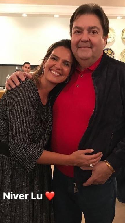 Luciana e Fausto (Foto: Reprodução/ Instagram)