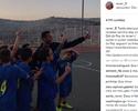Réver visita projeto social de futebol no Oriente Médio: ''Ferramenta de união''