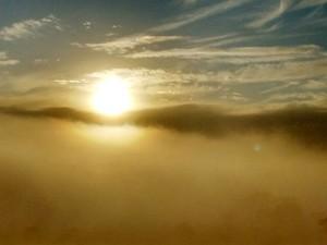 Neblina Uberlândia (Foto: Fábio Vargas/Arquivo Pessoal)