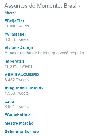Viviane Araújo (Foto: Reprodução / Twitter)