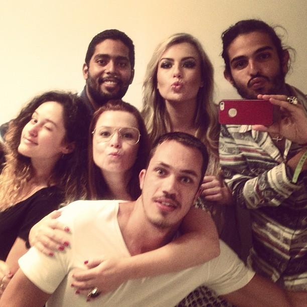 Ex-BBB Fernanda Keulla com amigos (Foto: Instagram/ Reprodução)