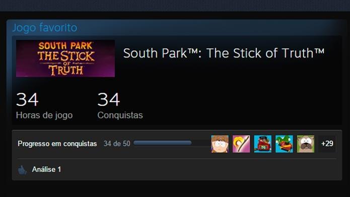 Veja como exibir suas conquistas no perfil do Steam (Foto: Reprodução/Tais Carvalho)