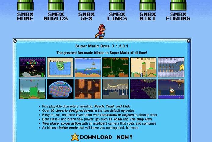 Como criar fases do Mario usando o Super X (Foto: Reprodução/Murilo Molina)