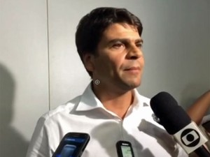 Secretário Pedro Paulo (Foto: Reprodução / G1 / Lívia Torres)