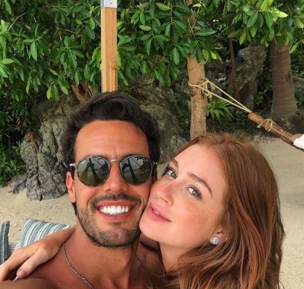 Marina e Xande (Foto: Reprodução/ Instagram)
