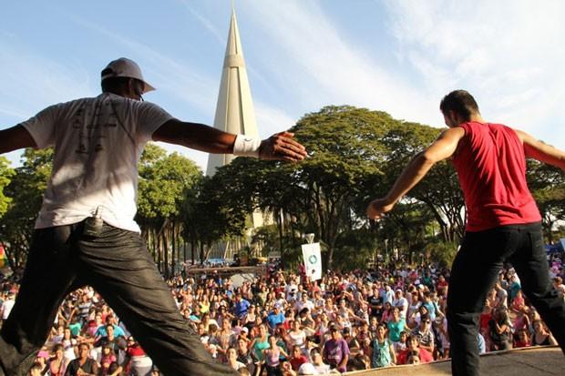 RPC TV na Praça volta à Maringá neste sábado (18) (Foto: Divulgação/RPC TV)