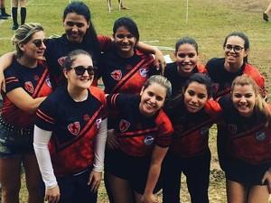 Time feminino do Palmas Rugby levou a melhor em amistoso (Foto: Palmas Rugby/Divulgação)