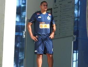 Walter no treino do Cruzeiro (Foto: Lucas Catta Prêta / Globoesporte.com)
