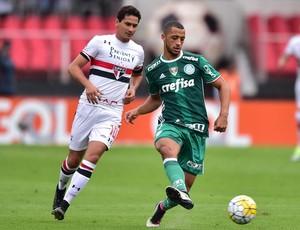 São Paulo X Palmeiras Vitor Hugo e Ganso (Foto: Marcos Ribolli)