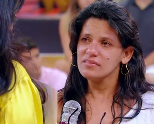 Mara conta história de superação (Foto: Esquenta!/TV Globo)