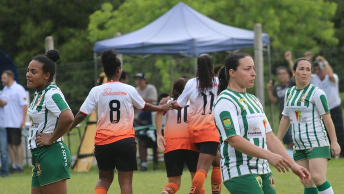 final futebol feminino centro olímpico municipal Canoas (Foto: Beto Azambuja / GloboEsporte.com)