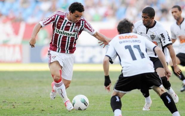 Wellington Nem, Fluminense x Atlético-MG (Foto: Dhavid Normando / Photocamera)
