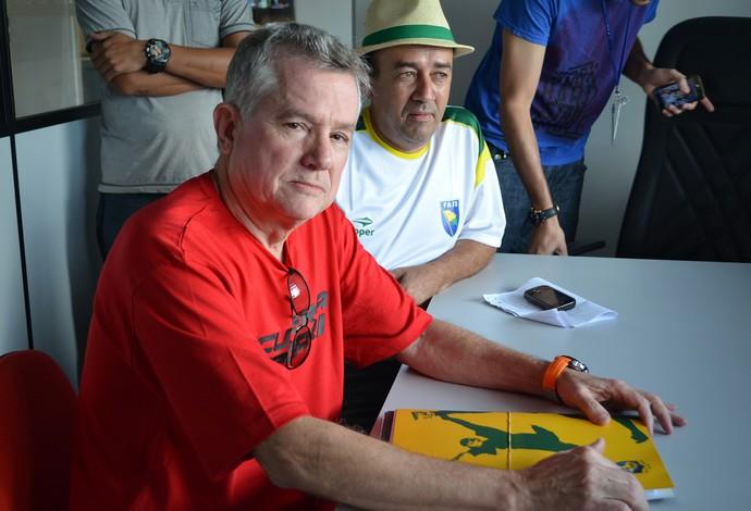 Marcos Madeira, presidente Federação Mineira de Futsal (Foto: Quésia Melo)