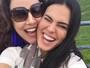 Ana Carolina posta clique fofo com a  namorada, Leticia Lima