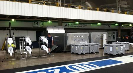 Bicos da Williams em Interlagos (Foto: Fred Sabino)