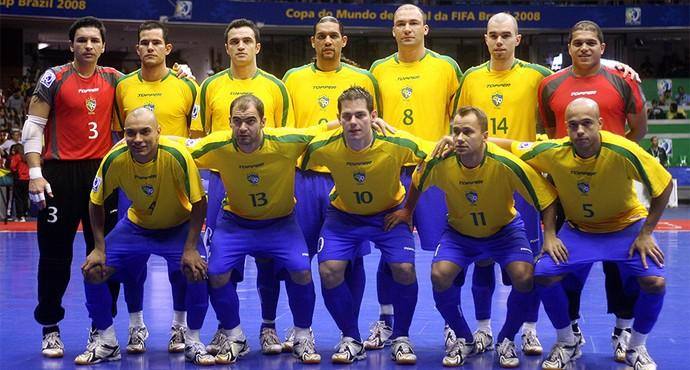Futsal seleção Brasil 2008 (Foto  Joedson Alves Futura Press) dbbabd10973ac